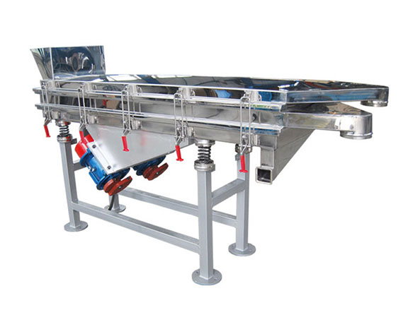 Stainless Steel Linear Vibrating Screen